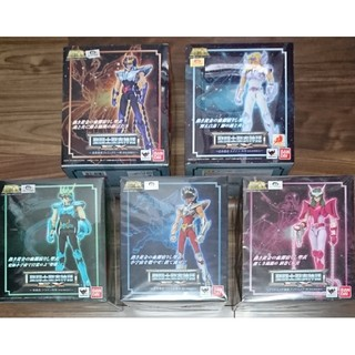 BANDAI - 聖闘士聖衣神話EX 新生青銅聖闘士 5人セット 聖闘士星矢 フィギュア
