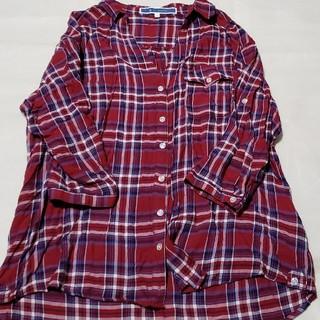 THE EMPORIUM - THE EMPORIUM ♡ 2way チェックシャツ