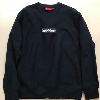Supreme - Supreme  box logo crewneck sweatshirt