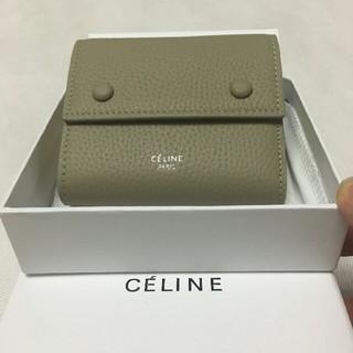 celine - 大人気 CELINE コンパクト財布