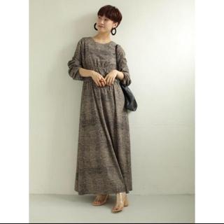 TODAYFUL - 今期完売品  トゥデイフル Print Shirring Dress