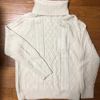 Ciaopanic - チャオパニック ニットセーター タートルネック ホワイト 送料込み