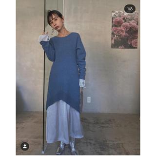 Ameri VINTAGE - ameri MERMAID TIGHT KNIT DRESS