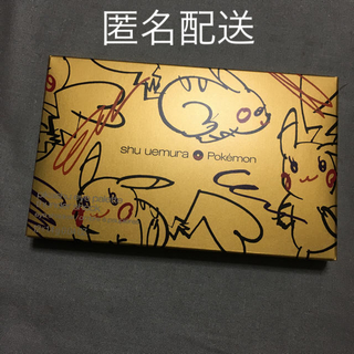 シュウウエムラ(shu uemura)の新品未使用 ♡ シュウウエムラ ♡ ピカシュウ サンダーショック(アイシャドウ)