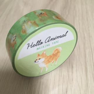 【新品・未使用】 マステ 1個 ハローアニマル 柴犬