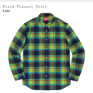 Supreme - Supreme Plaid Flannel Shirt Mサイズ