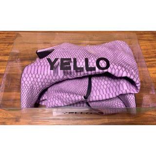 【YELLO】イエロー ブーツ パープル/紫 サイズM(ブーツ)