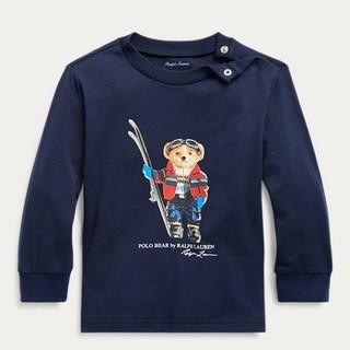 Ralph Lauren - Ralph Lauren スキー ベア コットン ジャージー Tシャツ 18m