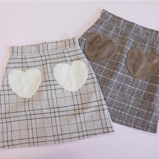 evelyn - ハートポケットスカート