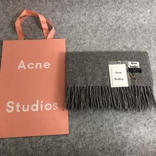 ACNE - Acne Studiosプレゼントマフラーメランジキャメル男女兼用 正規品