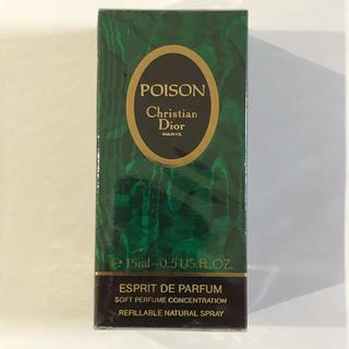 クリスチャンディオール(Christian Dior)のChristian Dior POISON 15ml(香水(女性用))