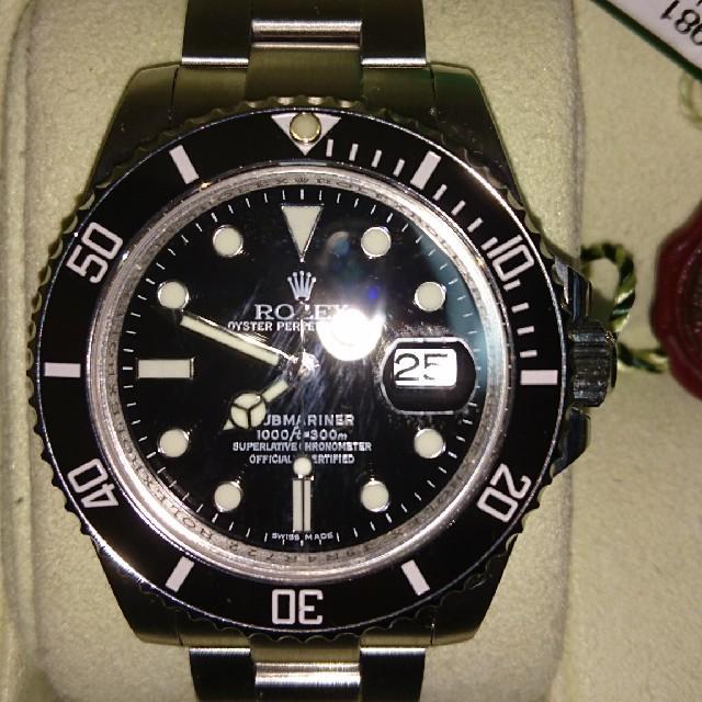 ジャガー ルクルト ダイヤ 、 ROLEX - サブマリーナ 116610LN ブラックの通販 by maya's shop