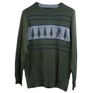 カブー(KAVU)のKAVU カブー Highline ハイライン セーター グリーン(ニット/セーター)