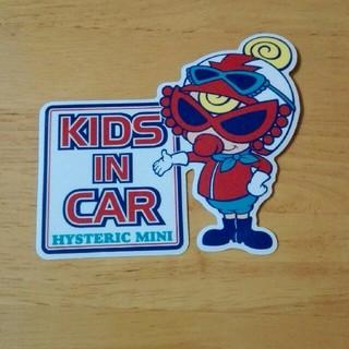 ヒステリックミニ(HYSTERIC MINI)のヒステリックミニ KIDS IN CAR(車外アクセサリ)