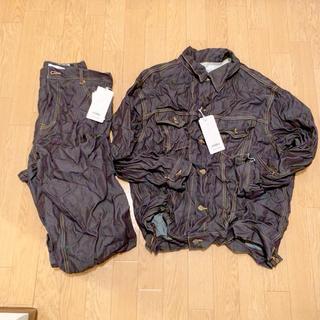 ファセッタズム(FACETASM)のFACETASM WOOL DENIM JACKET PANTS  SET UP(Gジャン/デニムジャケット)