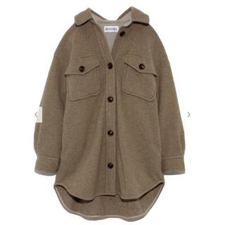 スナイデル(snidel)のSNIDEL ウールシャツジャケット(テーラードジャケット)