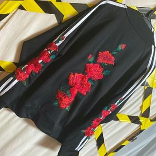 ワイスリー(Y-3)のローズLEGENDA薔薇ジャケット ヨウジヤマモト モンクレール y-3 ape(ジャージ)