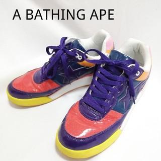 アベイシングエイプ(A BATHING APE)のA BATHING APE ベイプスター(スニーカー)