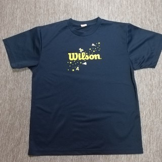 wilson - Wilson バドミントンTシャツ XLサイズ