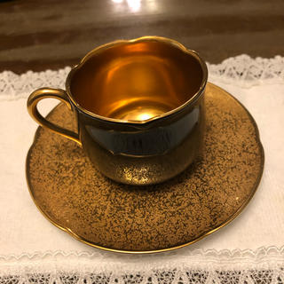 オクラ(OKURA)の大倉陶園 金盛 デミタスカップ(食器)