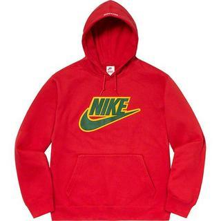 Supreme - Supreme Nike Leather Appliqué Hooded