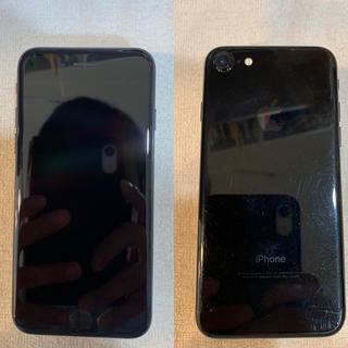 iPhone - 金土日限定値下げ iPhone7 128GB ジェットブラック au