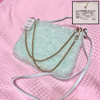 rienda - 新品◆rienda*チュールレースフリル♡ショルダーバッグ♡チェーン付き♡ミント