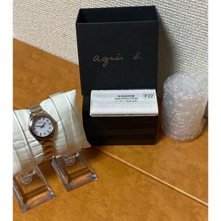 agnes b. - 【良品・特価】agnes.b アニエスベー SOLAR ソーラー 時計