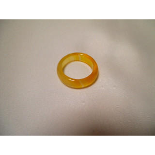 D54f51●パワーストーン●天然石メノウ指輪●瑪瑙 めのう●14号リング●(リング(指輪))