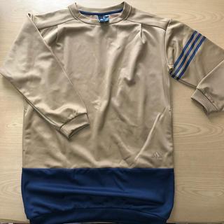 アディダス(adidas)のadidas ロング丈トップス ワンピース(Tシャツ(長袖/七分))