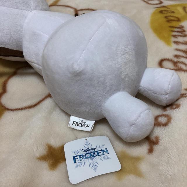 Disney(ディズニー)のアナと雪の女王 ぬいぐるみ オラフ寝そべりぬいぐるみ キッズ/ベビー/マタニティのおもちゃ(ぬいぐるみ/人形)の商品写真