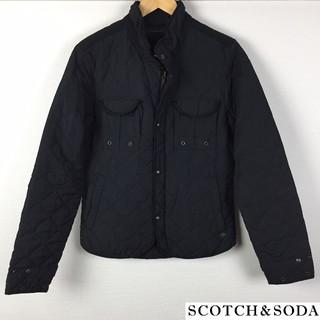 スコッチアンドソーダ(SCOTCH & SODA)の美品 スコッチ&ソーダ ジャケット ブラック サイズS(ブルゾン)