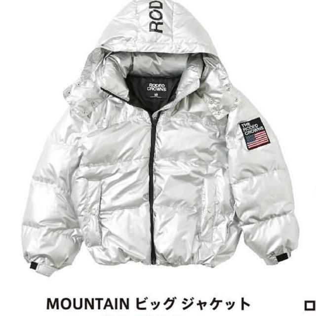 RODEO CROWNS WIDE BOWL(ロデオクラウンズワイドボウル)のRODEO CROWNS ビッグジャケット MIRROR9  moussy  レディースのジャケット/アウター(ブルゾン)の商品写真