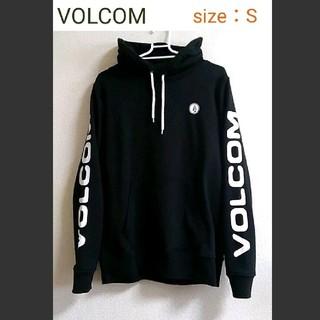 volcom - volcom  腕ロゴパーカー Sサイズ