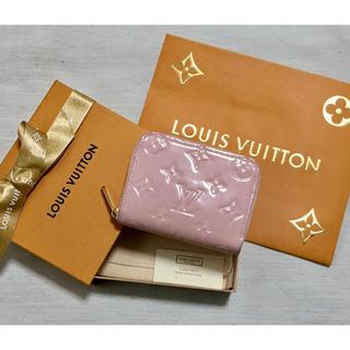 LOUIS VUITTON - 週末限定価格!!良品! ルイヴィトンヴェルニ  コインパース  ローズバレリーヌ