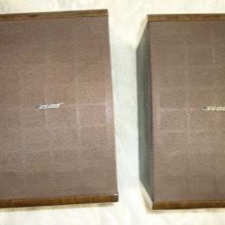 ボーズ(BOSE)の22日まで値下げ BOSE ボーズスピーカー MODEL121  ペア 美品(スピーカー)