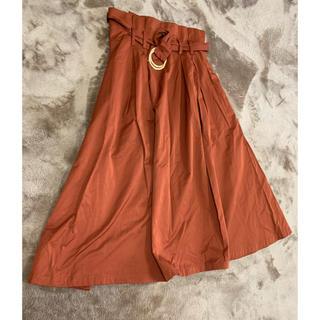 ZARA - ZARAxsサイズレンガ色スカート