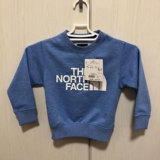 THE NORTH FACE - ノースフェイス スウェットロゴクルー 100cm