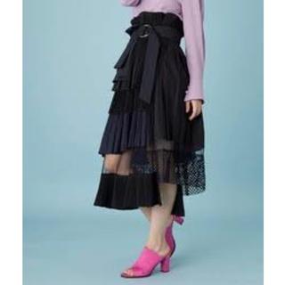 STUDIOUS - 【少々難あり】united tokyo プリーツレイヤードスカート