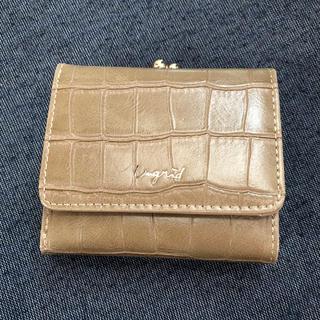 アングリッド(Ungrid)のUngrid 三つ折り財布 新品・未使用(財布)