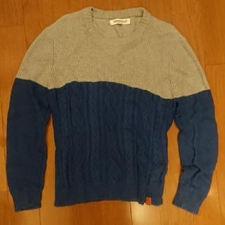 Simplicite - 紺とグレーのセーター simplicite plus