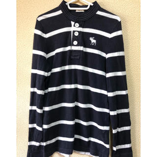 Abercrombie&Fitch - アバクロシャツ『アイコンボーダー.中古品』