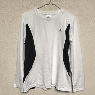 アディダス(adidas)のadidas 長袖ロングTシャツ ドライ素材 サイズOT(Tシャツ(長袖/七分))