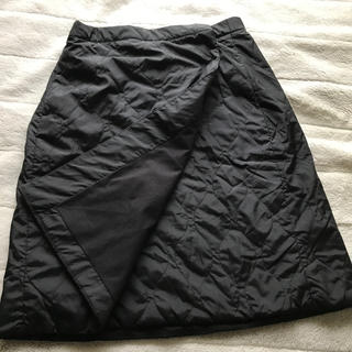 UNIQLO - ユニクロ 巻きスカート 黒
