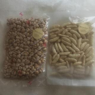 麦チョコホワイト&柿の種チョコホワイトセット(菓子/デザート)