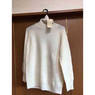 ムジルシリョウヒン(MUJI (無印良品))の未使用 タグ付き 無印 タートルセーター(ニット/セーター)