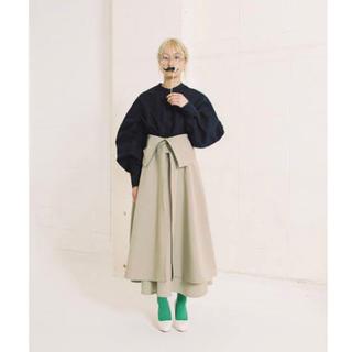 TOGA - Natsumi Zama Tow-side Dress - BLACK