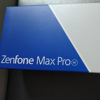 ASUS - ASUS zenfone max pro m1 シムフリー 新品、未使用品