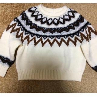 LEPSIM - 【LEPSIM】ノルディックセーター