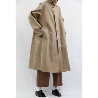 COMOLI - URU / ウル  Balmacaan coat (typeA)